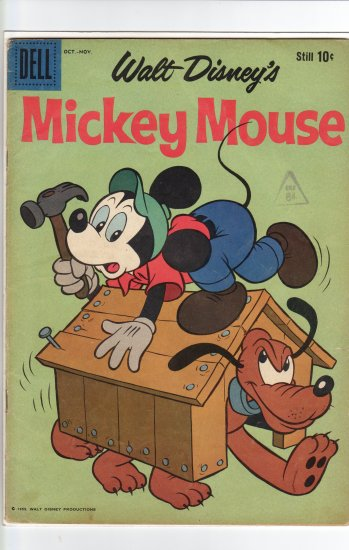 MIckey Mouse # 68  FN- to FN+