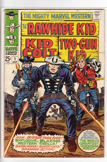 Mighty Marvel Western # 1  VG/FN to FN-