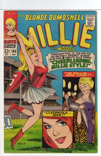 Millie the Model # 146  VF- to VF+