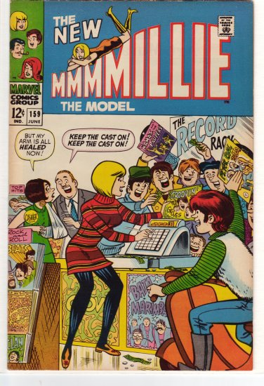Millie the Model # 159  VF/NM to NM-