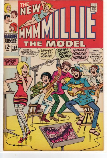 Millie the Model # 164  VF/NM to NM-