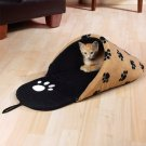 Slipper Pet Bed Paw Print