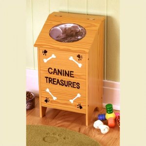 Pet Storage Box - Wooden