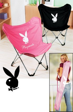 Playboy chair with bag