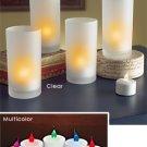 LED Flickering Tea Lights - set of 5