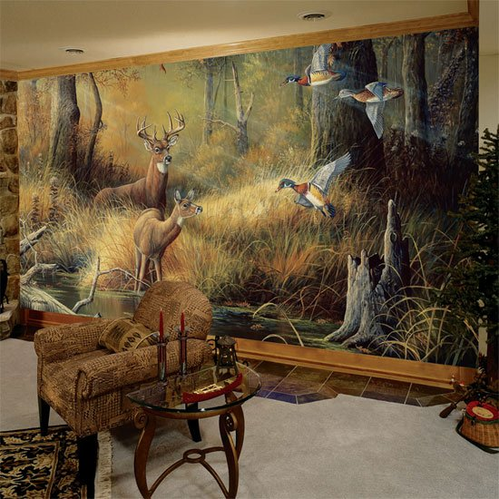 October Memories Wall Mural