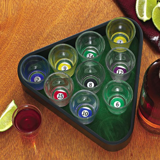 Shot Glass Pool Party Games