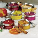 Set Of 6 Holiday Candles