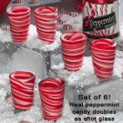 Set Of 6 Candy Shot Glasses