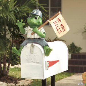 No More Bills Mail Frog