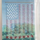 American Flag Beaded Curtain