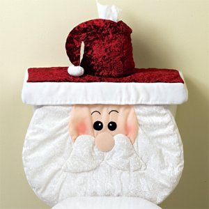 Santa Holiday Tank and Tissue Covers