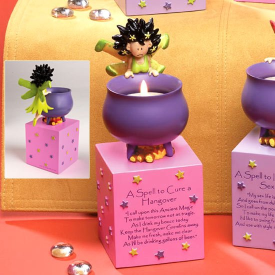 Hang Over - Fairy Spell Candle Holder