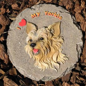 Dog Breed Stepping Stones - Yorkie