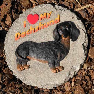 Dog Breed Stepping Stones - Dachshund
