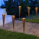 Set of 6 cone-shaped Luminaries