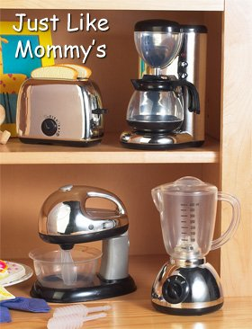 Sets Of 2 Kids Play Appliances