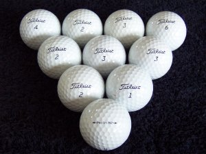 60 (5 doz) Titleist Pro V1 Golf Balls AAA+ Condition