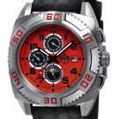 SUG TITAN MENS 21J AUTOMATIC WATCH NEW S.U.G. RED FREE USA S-H