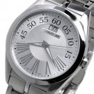 CERRUTI 1881 TRADIZIONE MENS SWISS STAINLESS STEEL WATCH NEW SILVER FREE USA S-H