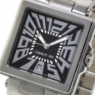 CERRUTI 1881 MENS IMPERO UOMO SWISS STAINLESS WATCH NEW BLACK FREE USA SH
