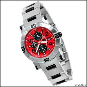 SUG MARSHALL MENS CITIZEN OS10 CHRONOGRAPH SS WATCH NEW S.U.G. RED