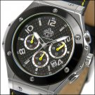 SUG ATOMIC MENS CITIZEN OS20 CHRONOGRAPH STAINLESS STEEL WATCH NEW S.U.G.