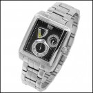 WOHLER SCHUBERT MENS 28 JEWEL AUTOMATIC STAINLESS STEEL BRACELET WATCH NEW
