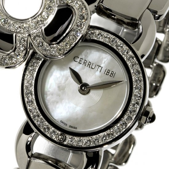 Cerruti 1881 Ladies Fiore Swiss Quartz Luxury Watch New Mop Stainless