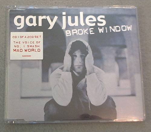 Broke Window: Gary Jules CD1 single