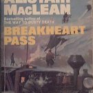 Breakheart Pass Alistair MacLean 1975 Paperback