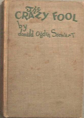 The Crazy Fool Donald Ogden Stewart 1925 Hard Cover