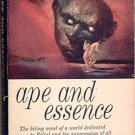 Ape and Essence Aldous Huxley 1958 Paperback