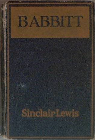 Babbitt Sinclair Lewis 1924 Photoplay Edition Hard Cover