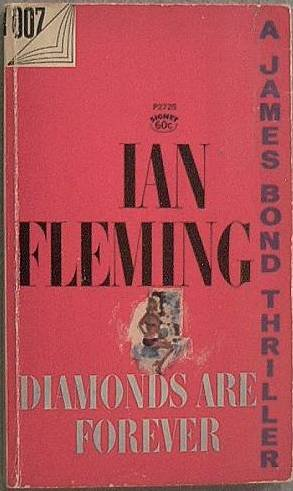 Diamonds Are Forever Ian Fleming 1964 Paperback