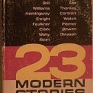 23 Modern Stories Various Authors 1963 Paperback