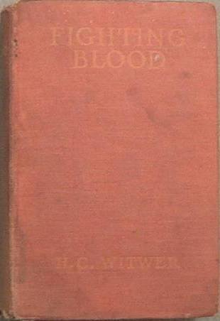 Fighting Blood H. C. Witwer 1923 Photoplay Edition Hard Cover