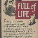 Full Of Life John Fante 1953 Paperback