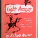 Light Armour Richard Armour 1954 HC/DJ