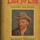 Lust For Life Irving Stone 1963 Paperback