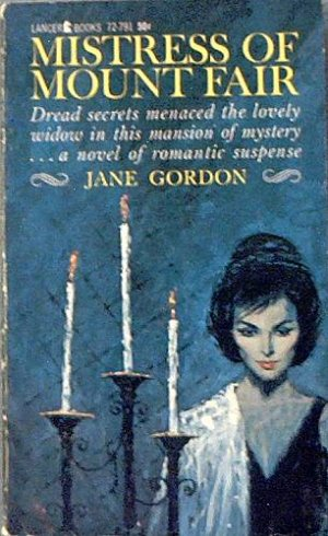 Mistress Of Mount Fair Jane Gordon 1965 Paperback
