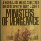 Ministers of Vengeance Robert Conot 1965 Paperback
