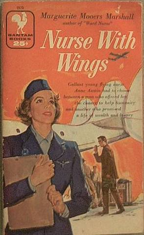 Nurse With Wings Marguerite Mooers Marshall 1957 Paperback