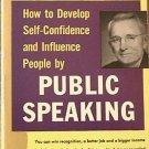 Public Speaking Dale Carnegie 1964 Paperback
