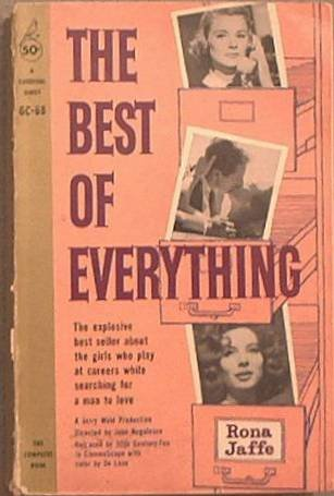 The Best Of Everything Rona Jaffe 1959 Paperback