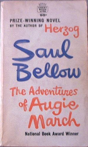 The Adventures Of Augie March Saul Bellow 1965 Paperback