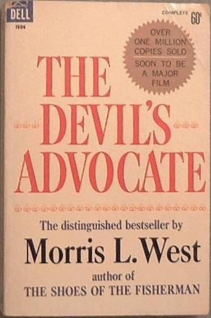 The Devil's Advocate Morris L West 1966 Paperback