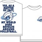 REVOLVES VOLLEYBALL T-SHIRT XL NEW volley ball
