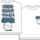 PROVE IT ON THE COURT VOLLEYBALL T-SHIRT XL NEW