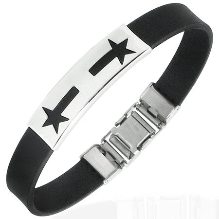 Shooting Stars Stainless Bracelet